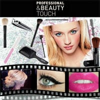brochas cepillos manicura professional &amp; beauty touch