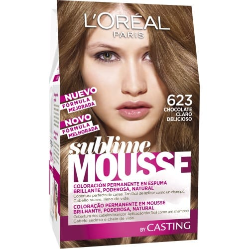 Tintes Color Chocolate De Loreal Paris Dark Brown Hairs