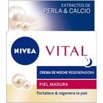 Crema de belleza Vital noche extractos de perla y calcio