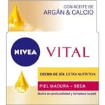 Crema de belleza Vital 50 ml. Nutritiva aceite de Argan