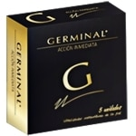 Germinal acción inmediata en ampollas 1,5 ml. 5 und